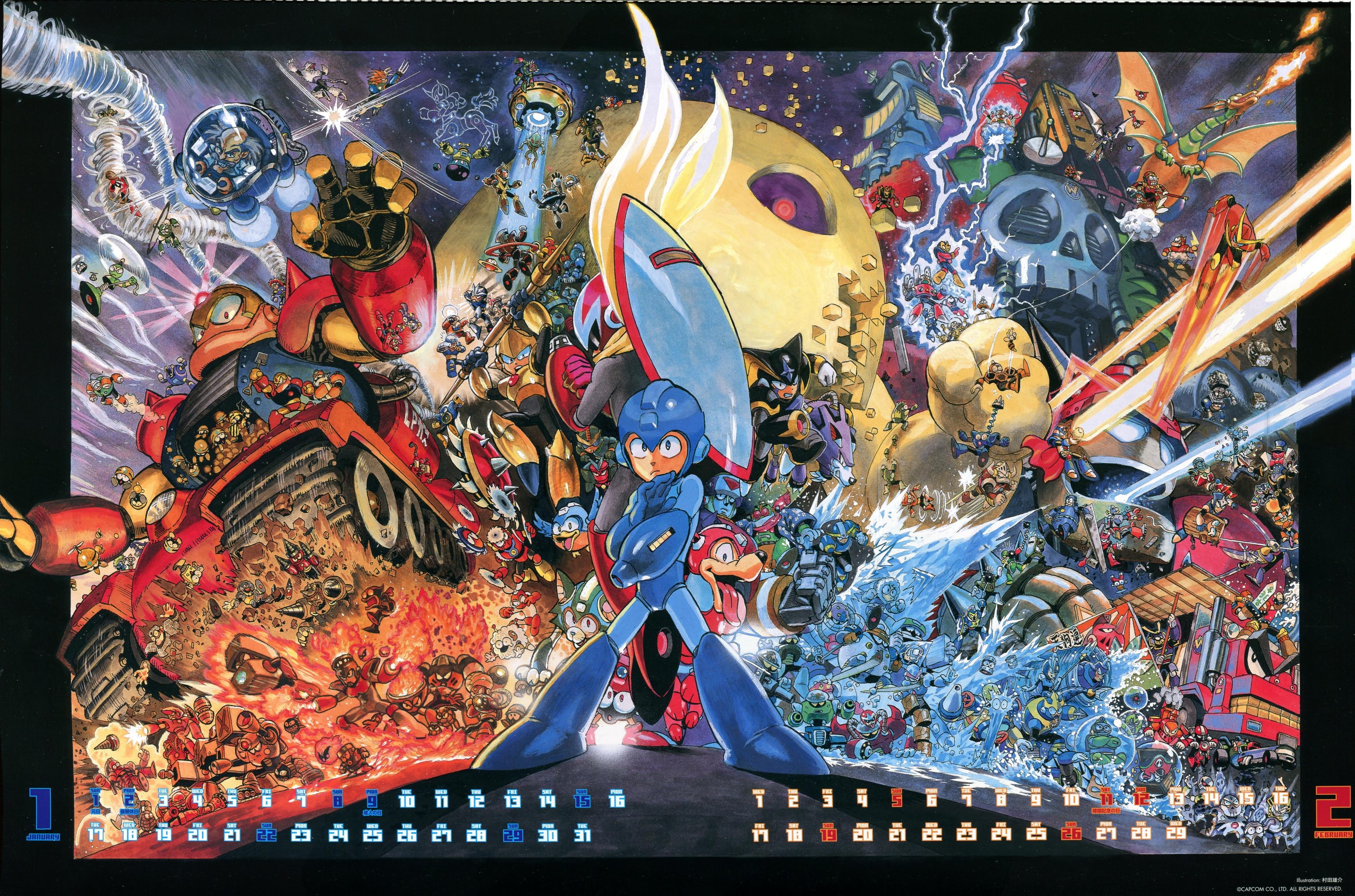 Yusuke Murata Drawing Megaman