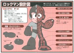 Rock Diagram Rockman & Rockman X Daizukan