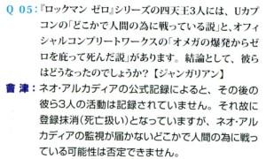 Rockman Zero Question 5
