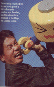 Inafune in EGM, 2000.
