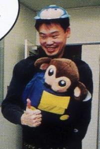 Keiji Inafune in CFC, 2000.