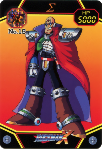 Carddass Rockman X No.015 Siga