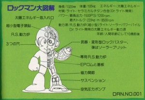 Rock Diagram Rockman Character Collection