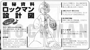 Rock Diagram from Rockman 2 The Power Fighters Secret File