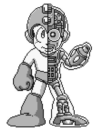 From Rockman World via Sprites Inc