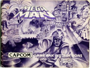 Mega Man Instructions 01