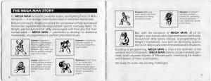 Mega Man Instructions 06-07