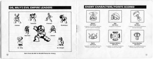 Mega Man Instructions 10-11
