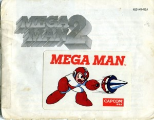 Mega Man 2 Manual page 01
