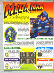 Nintendo Power #27 (Aug. 1991), page 52.