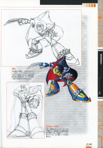 Compendium of Rockman X  pages 196-197