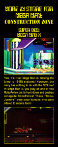 Mega Man X preview from EGM #49.