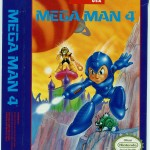 Mega Man 4 US box (front).
