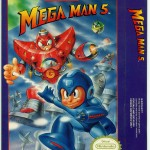 Mega Man 5 US box (front).