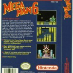 Mega Man 6 US box (back).
