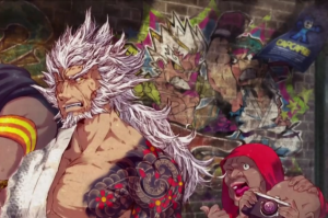 Rockman cameo from Asura's Wrath.